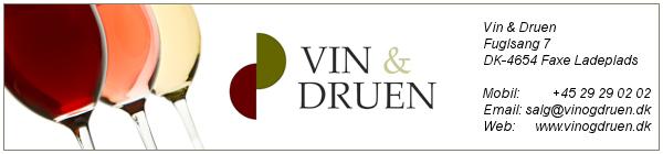 Velkommen til Vin & Druen