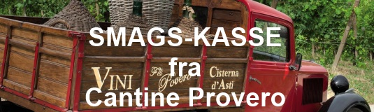 Smagskasse fra Cantine Provero
